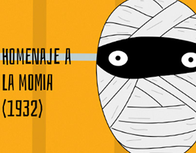 #HomenajeCineTerrorLaMomia