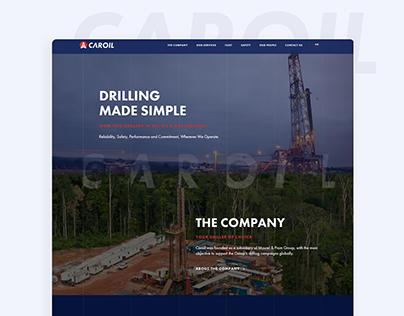 Caroil Website Design