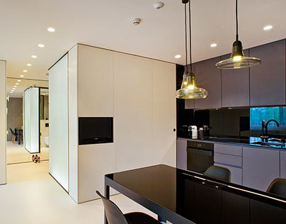 Iphani apartment on behance for Apartment design 70m2