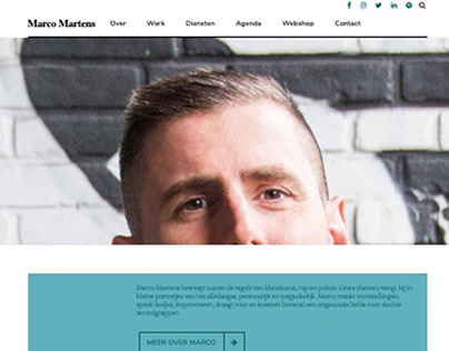 Marco Martens - Website