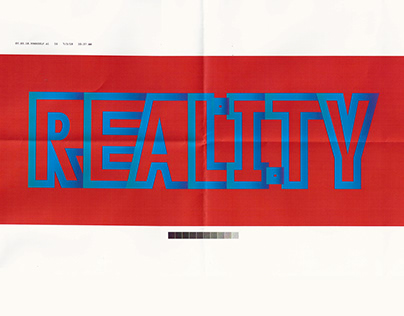 REALITY lettering