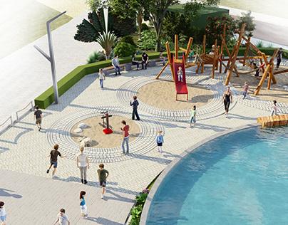 3. Lanscape design 1 ( Legacy Hill Hòa Bình )
