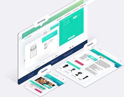 E-commerce Website Redesign