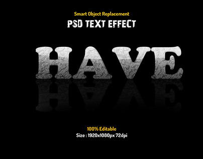 Reflection Text Effect