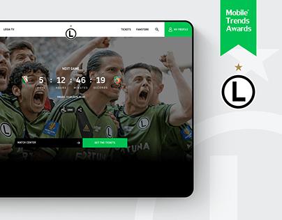 Legia Warsaw Website