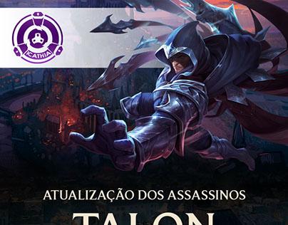 Atualização dos Assassinos - Talon