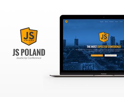 JS Poland 2017 Landing Page