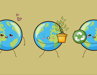 Infographic video (save the planet)