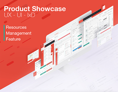 Product Showcase UX-UI-IxD (Manage Resources Feature)