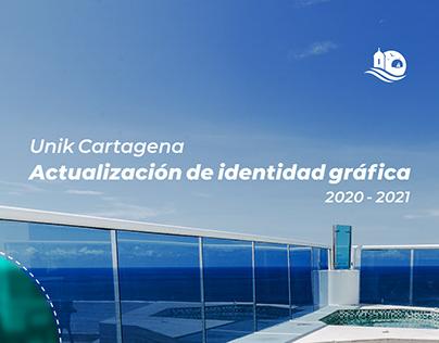 Actualización identidad gráfica Unik Cartagena