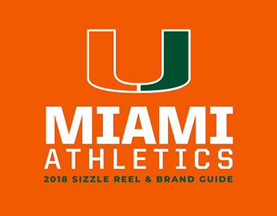 2018 Miami Hurricanes Sizzle Reel and Brand Guide