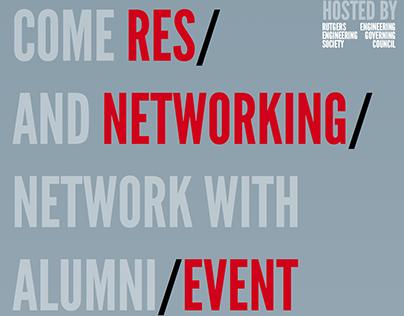 Rutgers EGC Flyer - Networking Event
