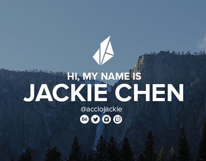 Personal Rebrand - Jackie Chen