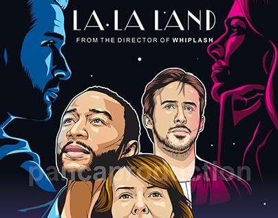La La Land Movie Poster | Fan Art