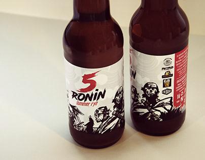 5 Ronin beer/pack/