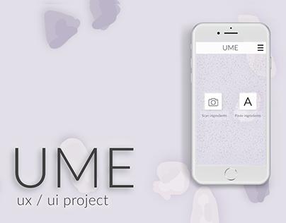 ume - ux / ui