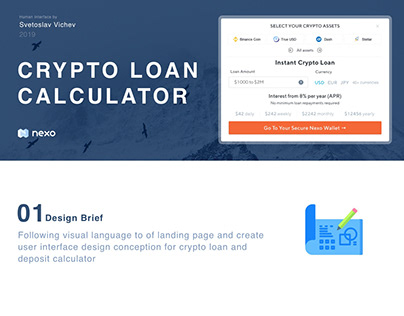 Crypto Loan Calculator
