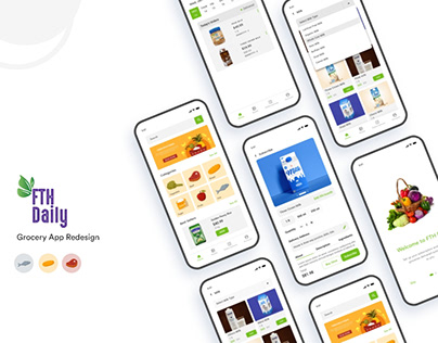 FTH Grocery App Redesign