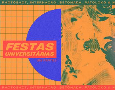 ID Visual de Festas Universitárias