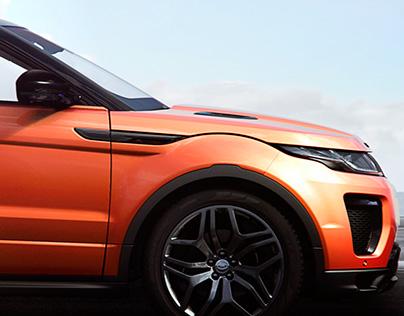 Range Rover Evoque Convertible CGI Film