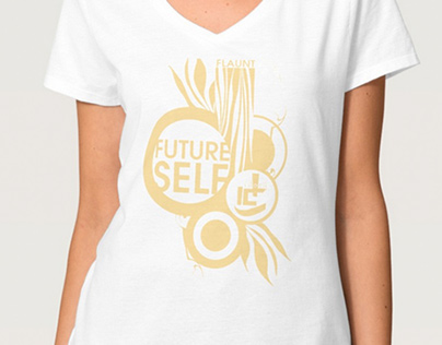 Future Self Flaunt Fashion Show t-shirt