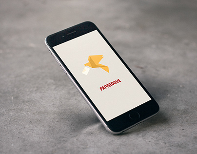 Design logo of a messaging app
