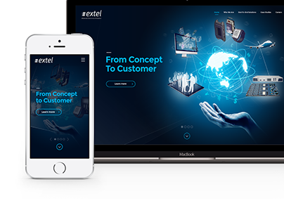 Extel Technologies - Website Refresh