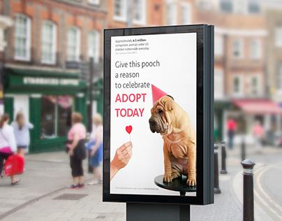 Public Service Announcement Adoption Poster