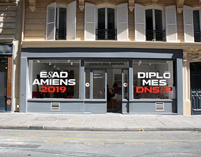 EXPOSITION PARIS DNSEP