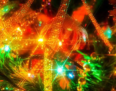 Merry Christmas lights