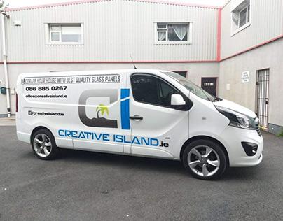 Creative Island car advert