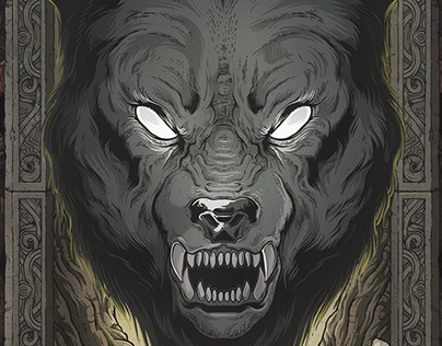 Derivative wolf design