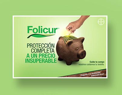 Campaña de publicidad para Folicur de Bayer México