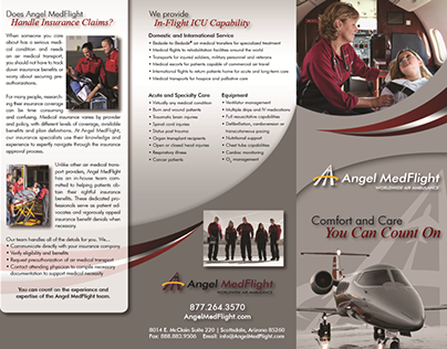 Angel MedFlight Patient Brochure
