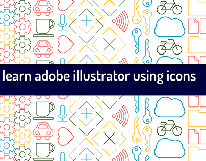 Learn Adobe Illustrator Using Icons