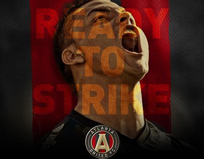 Atlanta United Player Signings Social Grpahics
