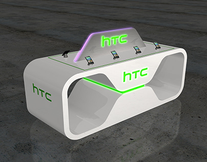 htc mobilphone exhibition stand