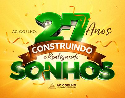Selo - AC Coelho 27 Anos
