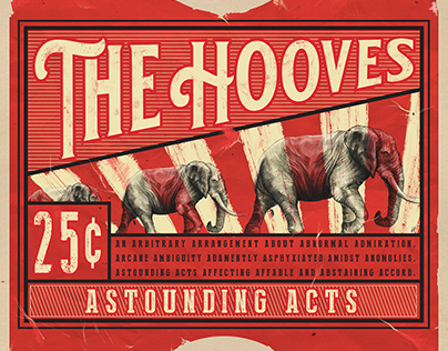 THE HOOVES - Album Cover