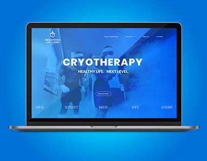 Web design   Kriosystem Care - Sport Beauty Medicine