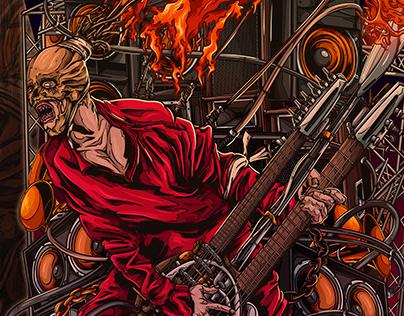The Doof Warrior | Print illustration