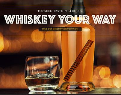 Whiskey: Kickstarter