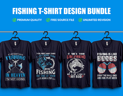 Best Fishing T-Shirt Design Bundle​​​​​​​