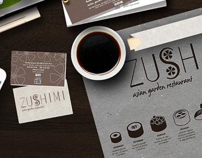 Zushimi Asian Garden Restaurant - Corporate Identity