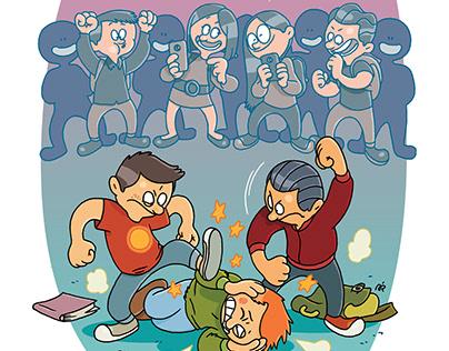 Ilustracije za časopis KOSMO.at