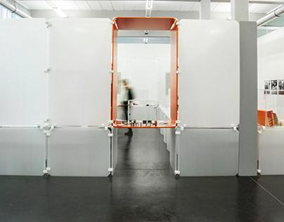 Ulm Museu exhibition modular wall design