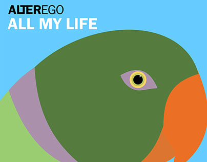 EP cover: Alterego - All my life (2018)