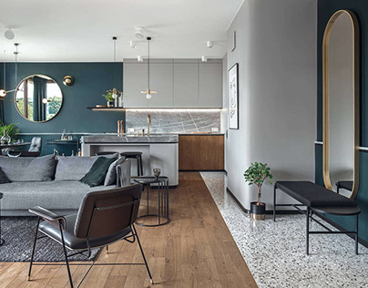 Apartment in Gdańsk by Raca Architekci