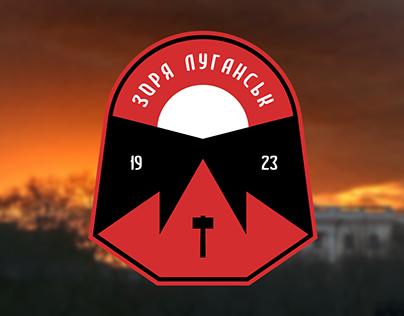FC Zorya Luhansk crest variant