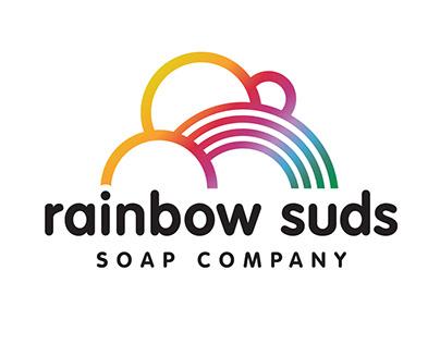 Rainbow Suds identity